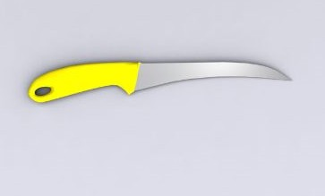 Cuchillos cuchillo de fruta 3d model download free 3d for Cuchillo fruta