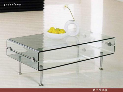 Plaza de cristal mesa de caf 3d model download free 3d for Table basse scandinave transparente