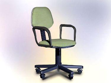 Modelo de mobiliario de oficina sillas de oficina 3d for Muebles de oficina 3d model