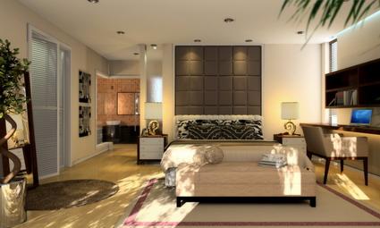 Amplias y luminosas habitaciones 3d model download free 3d for Habitaciones 3d gratis
