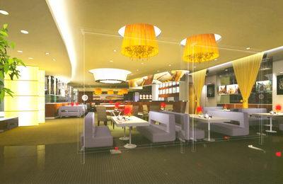 Restaurante de estilo de dise o de ocio 3d model download for 3d restaurant design software
