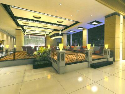 Restaurante De Estilo Moderno De Dise O 3d Model Download