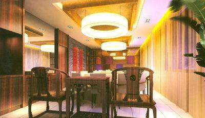 Restaurante de dise o roja 3d model download free 3d models download - Restaurante chino jardin feliz ...