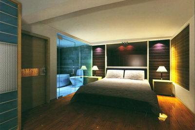 Interior Bedroom Villa