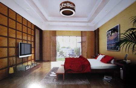 China modernas habitaciones incluidos los materiales 3d for Habitaciones 3d gratis