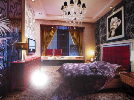 Modelo 3d de habitaciones tipo abstracto europea for Habitaciones 3d gratis