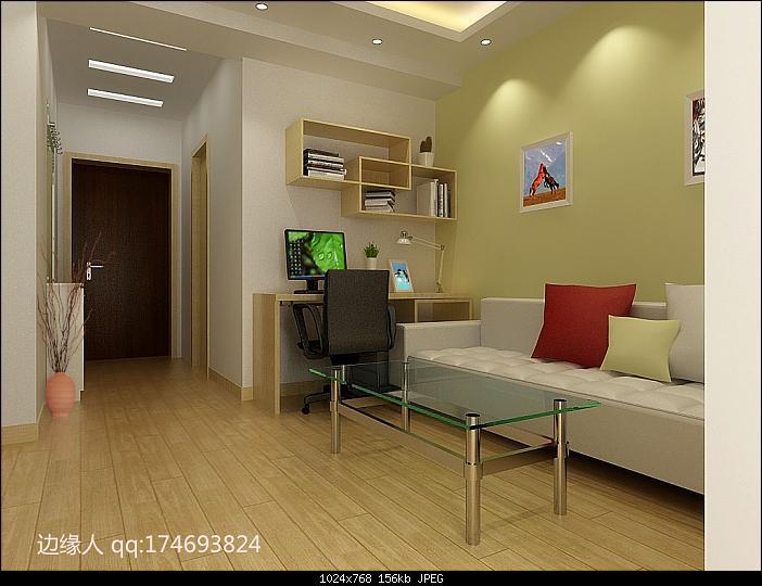 Modelo 3d extremadamente simples del tipo de sal n de la for Significado d living room