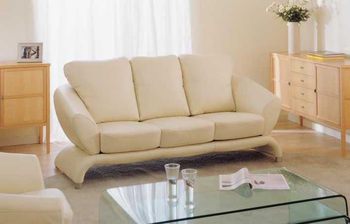 Blanco sal n sof 3d personas modelo para el hogar for Muebles en l modernos para sala