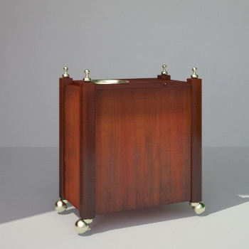Modelo en 3d de los muebles de madera maciza europea for La europea muebles