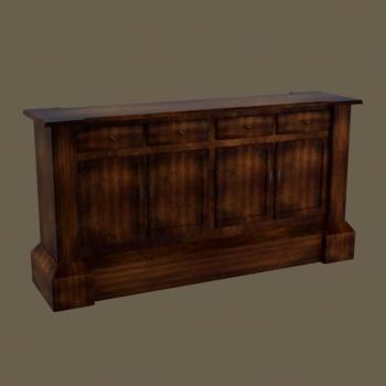 Modelo en 3d de madera retro europea contra 3d model for La europea muebles