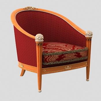Europea de tela roja de madera silla reclinable modelo en for La europea muebles