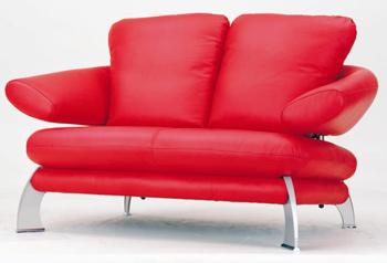 Estilo europeo moderno sof rojo asientos dobles 3d model for Muebles modernos estilo europeo