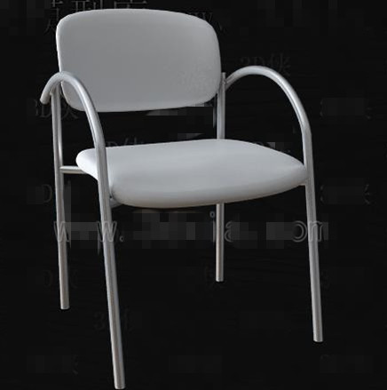 White simple oficina de moda silla