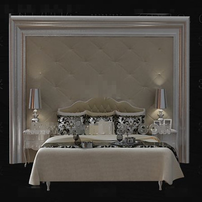Preciosa cortical cama doble color beige