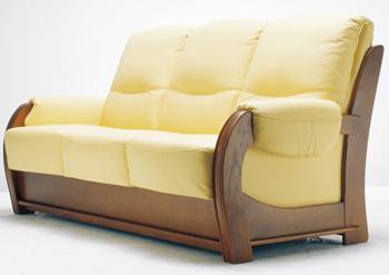 Estilo europeo tres asientos sof amarillo 3d model for Muebles modernos estilo europeo
