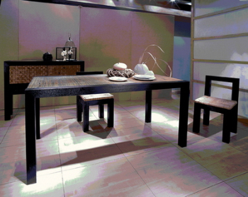 Registros de mesa de comedor minimalista silla modelo 3d for Mesa comedor minimalista