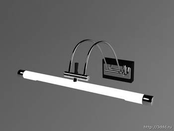 Modelos 3d de pared moderna 3d model download free 3d - Lampara de pared interior ...