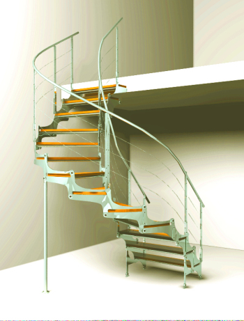 Escalera de caracol modelo 3d 3d model download free 3d for Escaleras 3d max