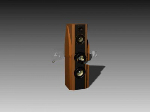 Brown DVD modelo 3d altavoz