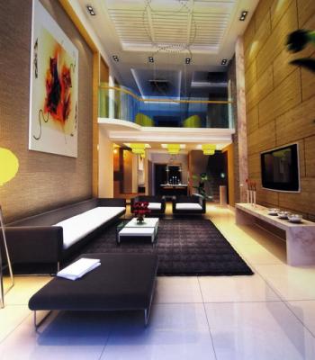 Moderno estilo minimalista sala de estar 3d model download for Muebles estilo minimalista