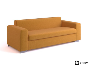estilo ikea sof multijugador 3d model download free 3d