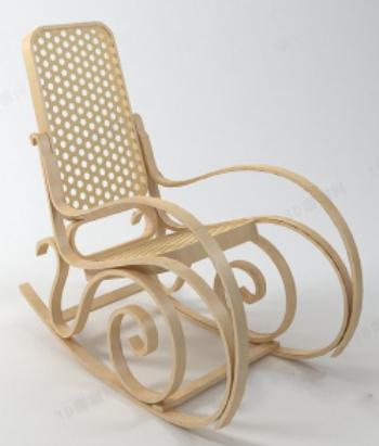 Modelos de sillas de madera creativos 3d model download for Modelos de sillas de madera