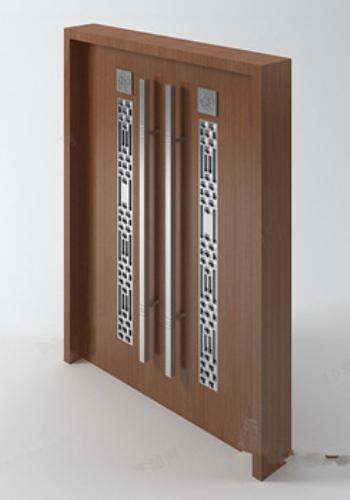 Las Grandes Puertas Dobles Modelos 3d 3d Model Download