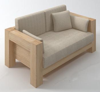 Madera blanda sof s 3d modelos 3d model download free 3d - Modelos de cojines para sofas ...