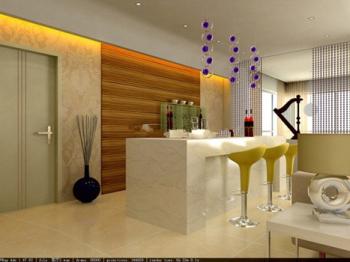Comedor modelos 3d sala naranja 3d model download free 3d for Modelos de sala comedor