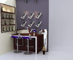 Home Wet Bar modelo 3d