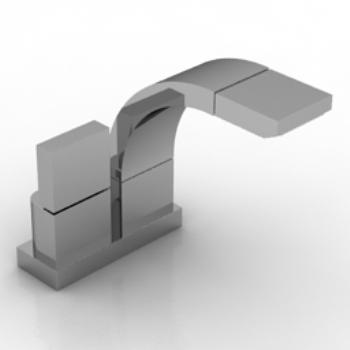 Modelo de grifo de metal 3d model download free 3d models - Modelos de grifos ...