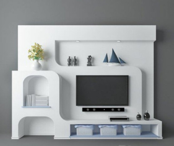 Modelo de pared de la TV elegante V¨ªa