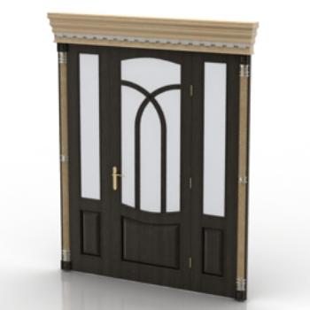 Puertas de estilo moderno modelo 3d model download free 3d for Puertas estilo moderno
