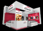 Stand Commodity material del modelo 3D