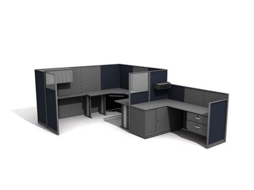 Muebles de oficina la ltima en 2007 41 3d model for Muebles de oficina 3d model