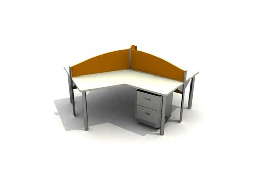 Muebles de oficina la ltima en 2007 41 3d model for Muebles de oficina 3d max