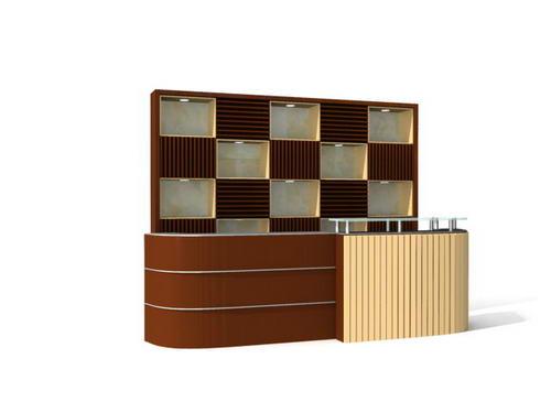Muebles de oficina escritorios 24 3d model download free for Muebles de oficina rd