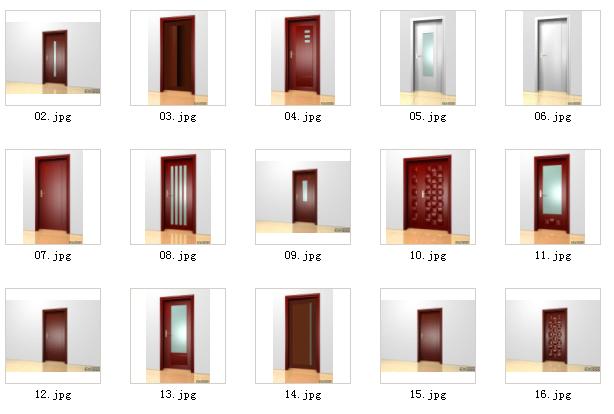 puerta de madera maciza y mentao 3d model download free 3d