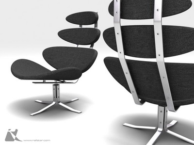 Muebles sillas 4 3 3d model download free 3d models download for Muebles de oficina 3d model