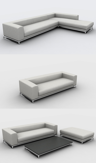 Sas 34 3 3d model download free 3d models download for Muebles de oficina 3d model