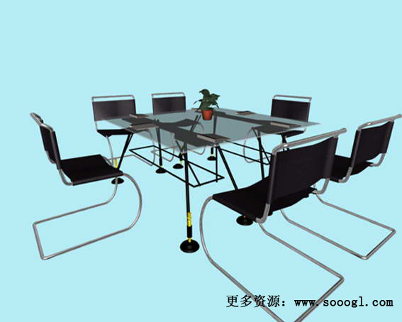 Mobiliario de oficina 013 130 3d model download free 3d for Muebles de oficina 3d model