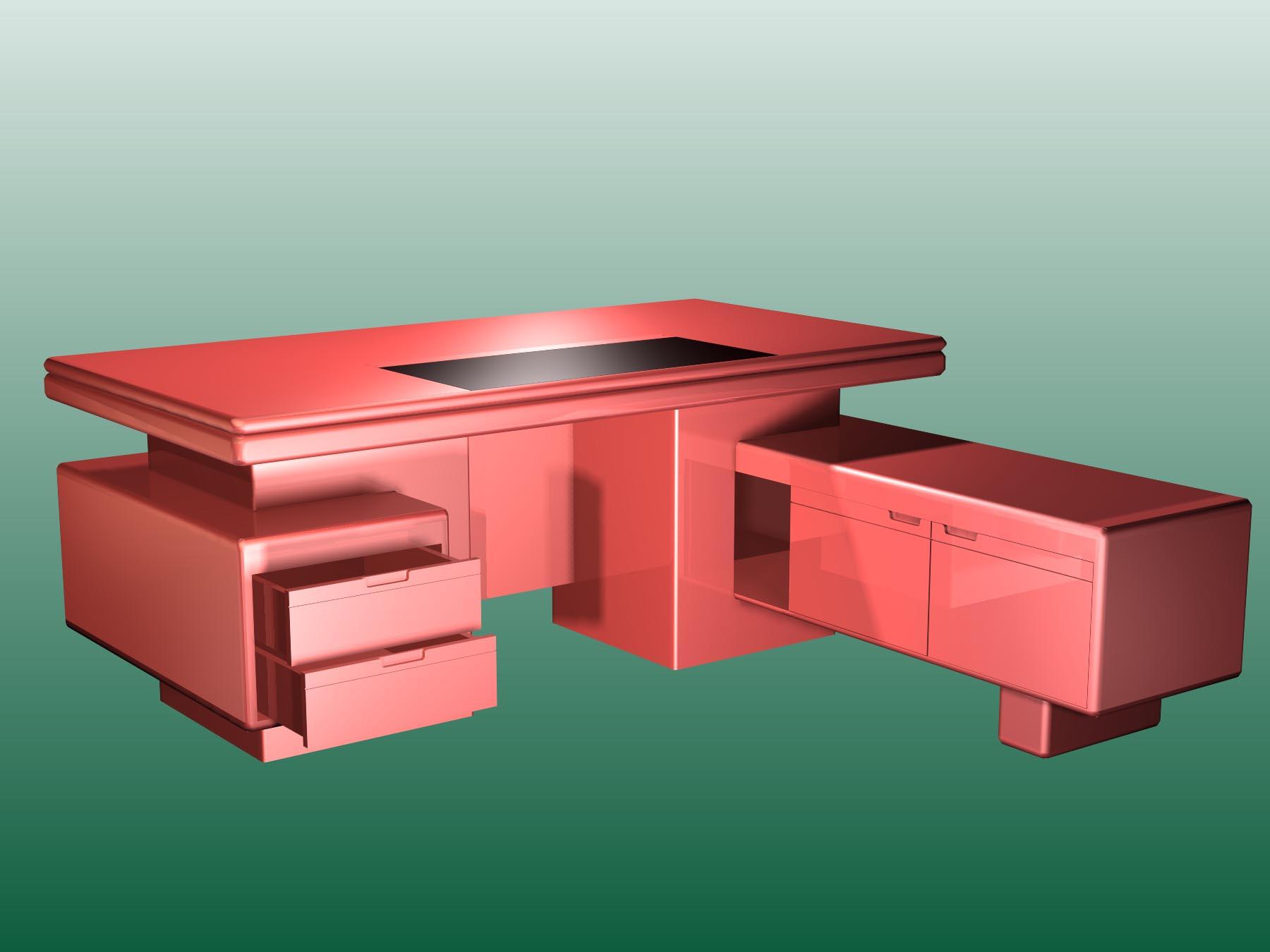 Mobiliario de oficina 003 24 3d model download free 3d for Muebles de oficina 3d model
