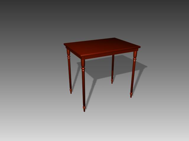 Muebles mesas a077 3d model download free 3d models download for Muebles de oficina 3d model