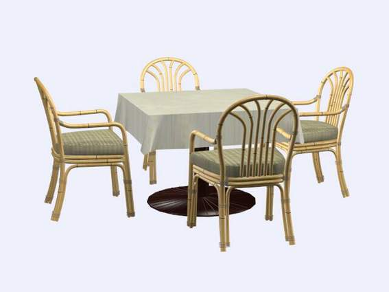 Muebles sillas a028 3d model download free 3d models download for Muebles 3d gratis