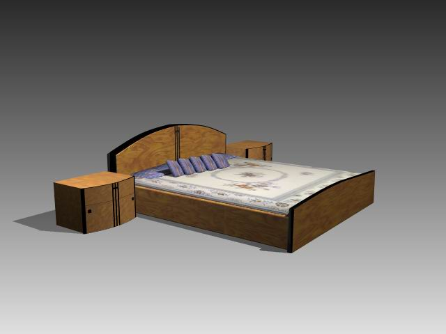 Muebles camas a048 3d model download free 3d models download for Muebles de oficina 3d model