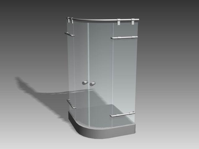 El cuarto de baño-ducha 002 3D Model Download,Free 3D ...