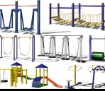 Al aire libre Fitness Equipment