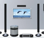 Home Theater modelo 3D