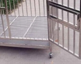Stainless Steel Cage Modelo